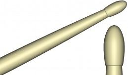 hickory 7A nylon