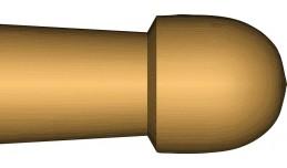 hickory 2B nylon