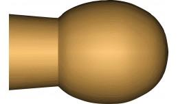 Kazové paličky  - habr 100 párů