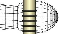 Hornbeam super grip drumsticks