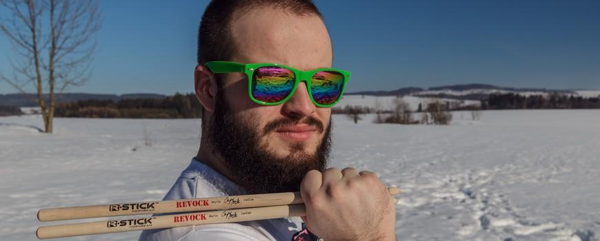 Martin Janíček drumsticks