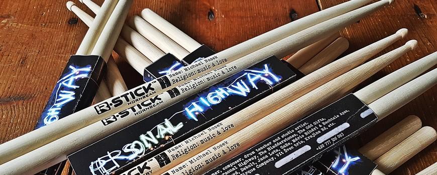 Michael Nosek drumsticks